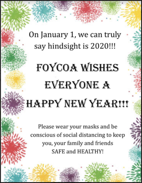 New Years Wishes for 2021
